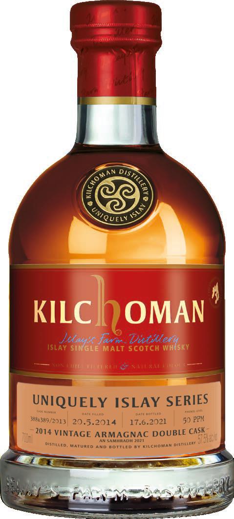 Kilchoman Uniquely Islay An Samhradh 2014 · Armagnac Cask · 57,5%