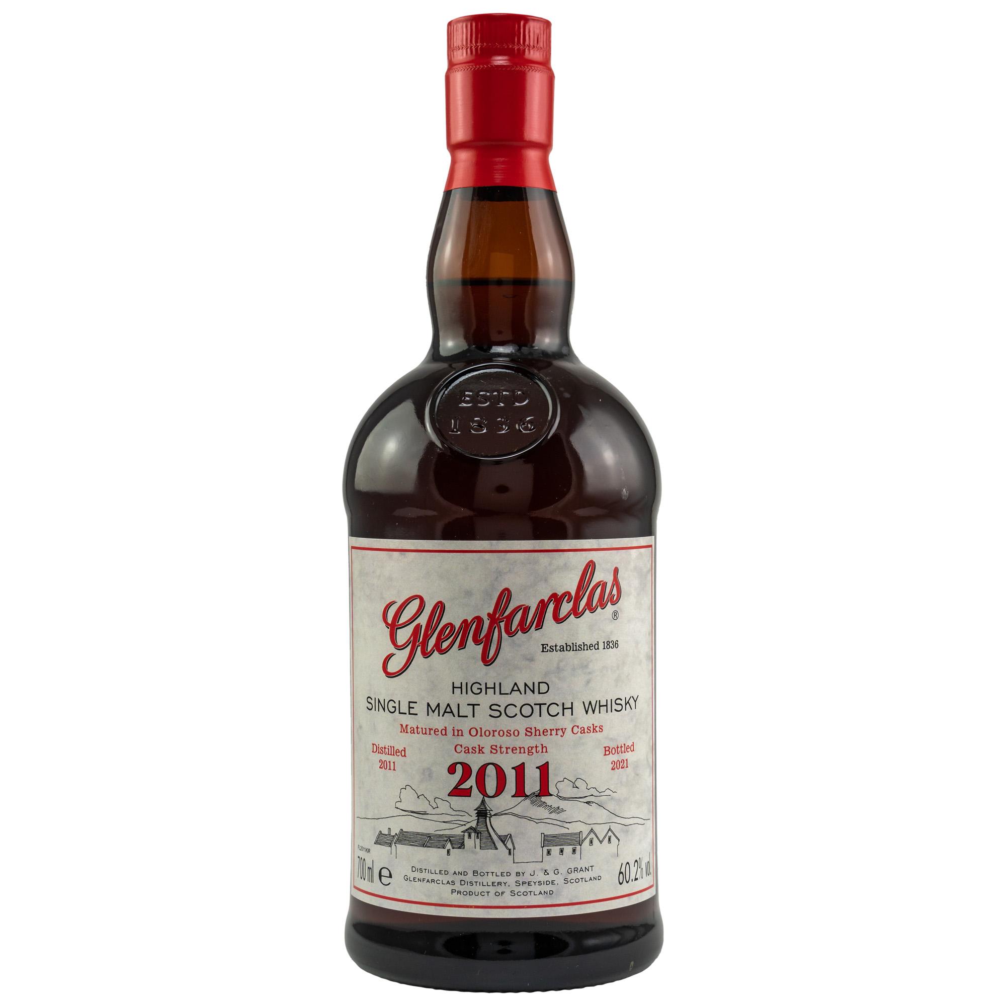 Glenfarclas 2011/2021 Oloroso Sherry CS 60,2 %