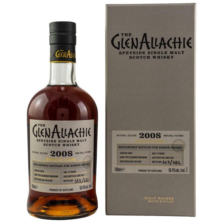 GlenAllachie Oloroso Puncheon 2008/2021 56,4%