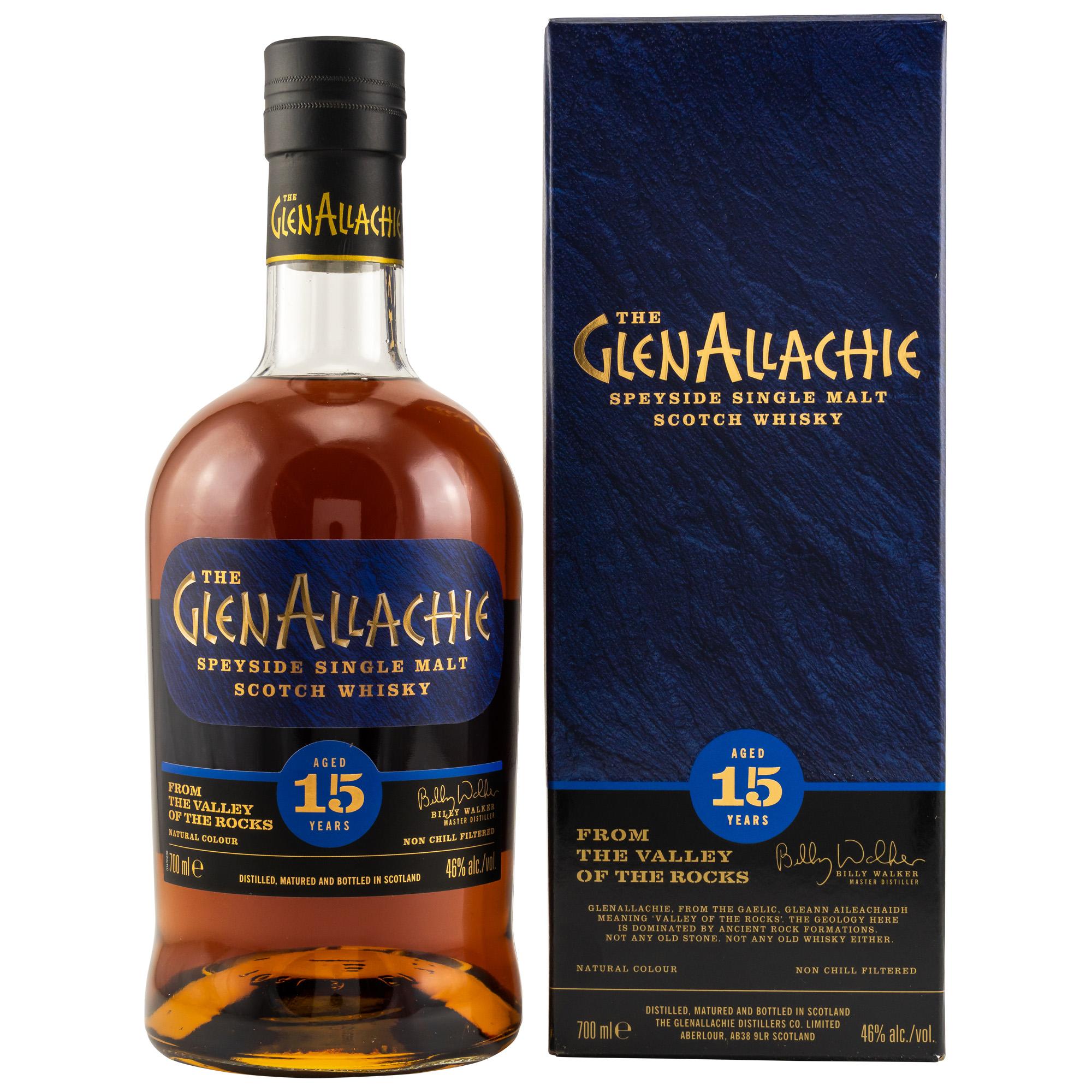 GlenAllachie 15 Jahre 46%