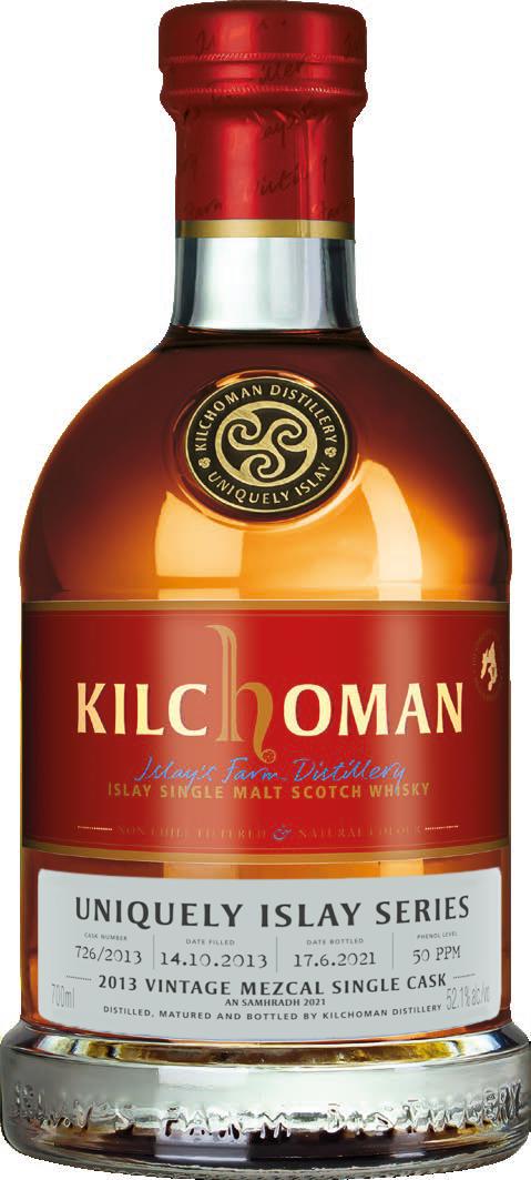 Kilchoman Uniquely Islay An Samhradh 2013 · Mezcal Cask · 52,1%