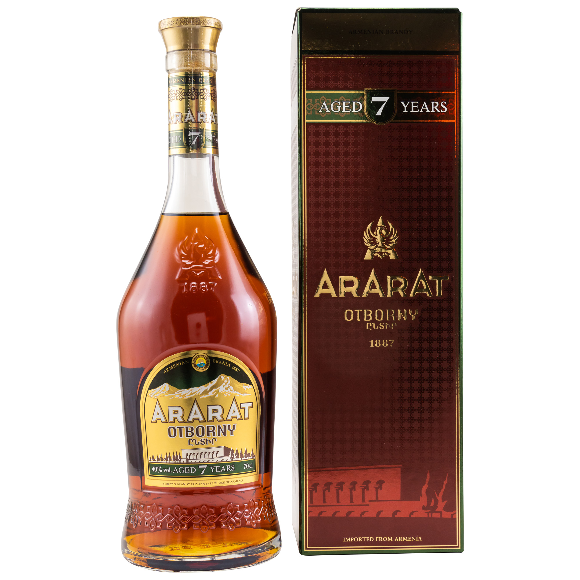 Ararat Brandy Otborny 7 y. - 40% vol.