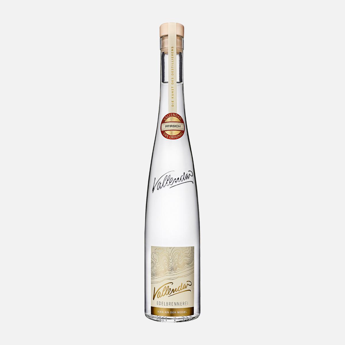 Vallendar Roter Weinbergpfirsichbrand 40% - 0,5l.