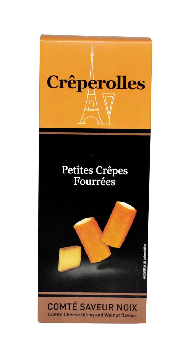 Creperolles Comté / Nuss 100g.
