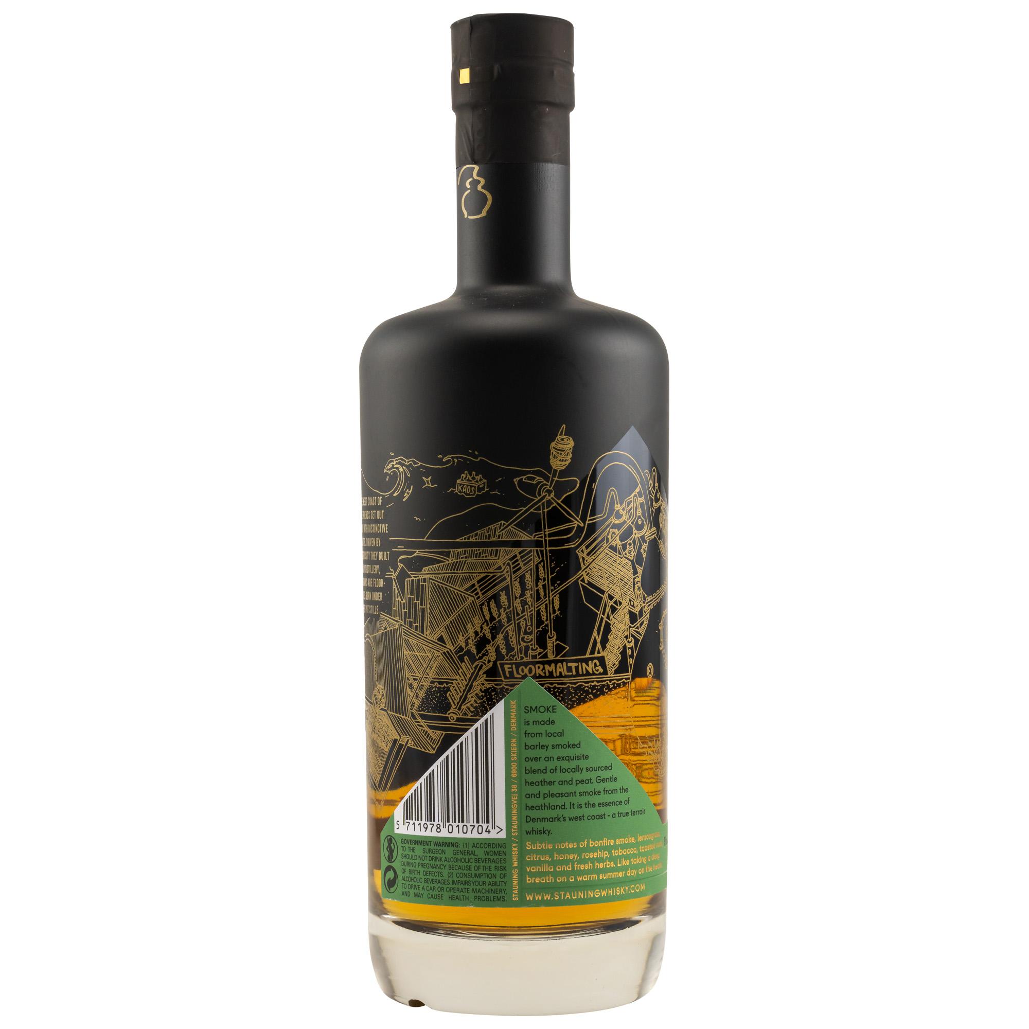 Stauning Smoke - Batch 01-2021 - Danish Whisky 47%