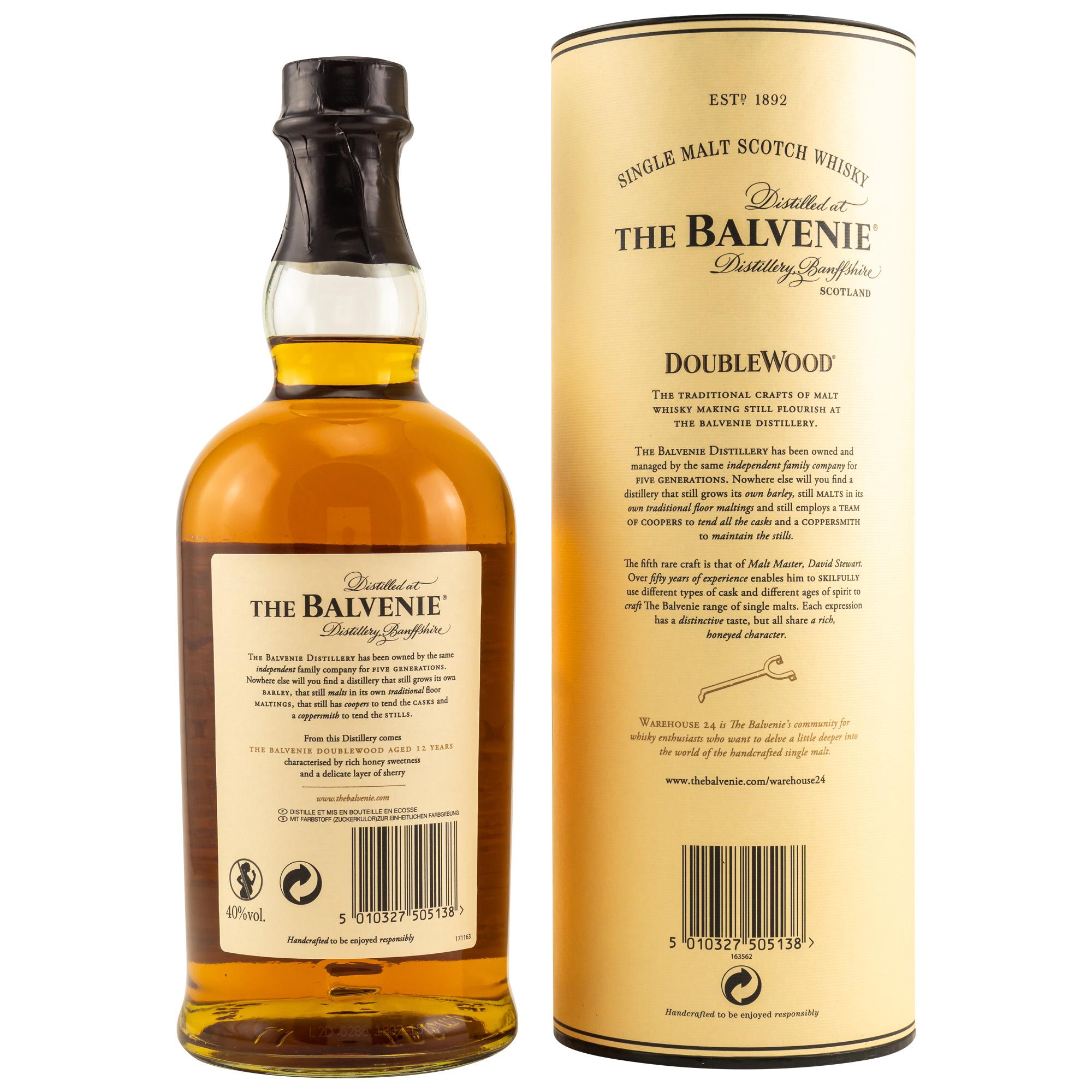The Balvenie 12 Years - DoubleWood 40%