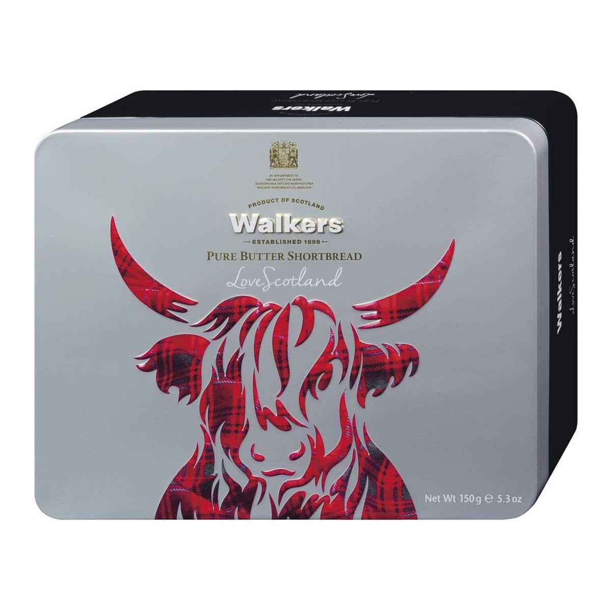 "Walkers Shortbread – ""Highland Cow"" Assorted Shortbread 150g – Dose"