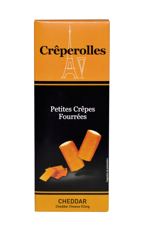 Creperolles Cheddar 100g.