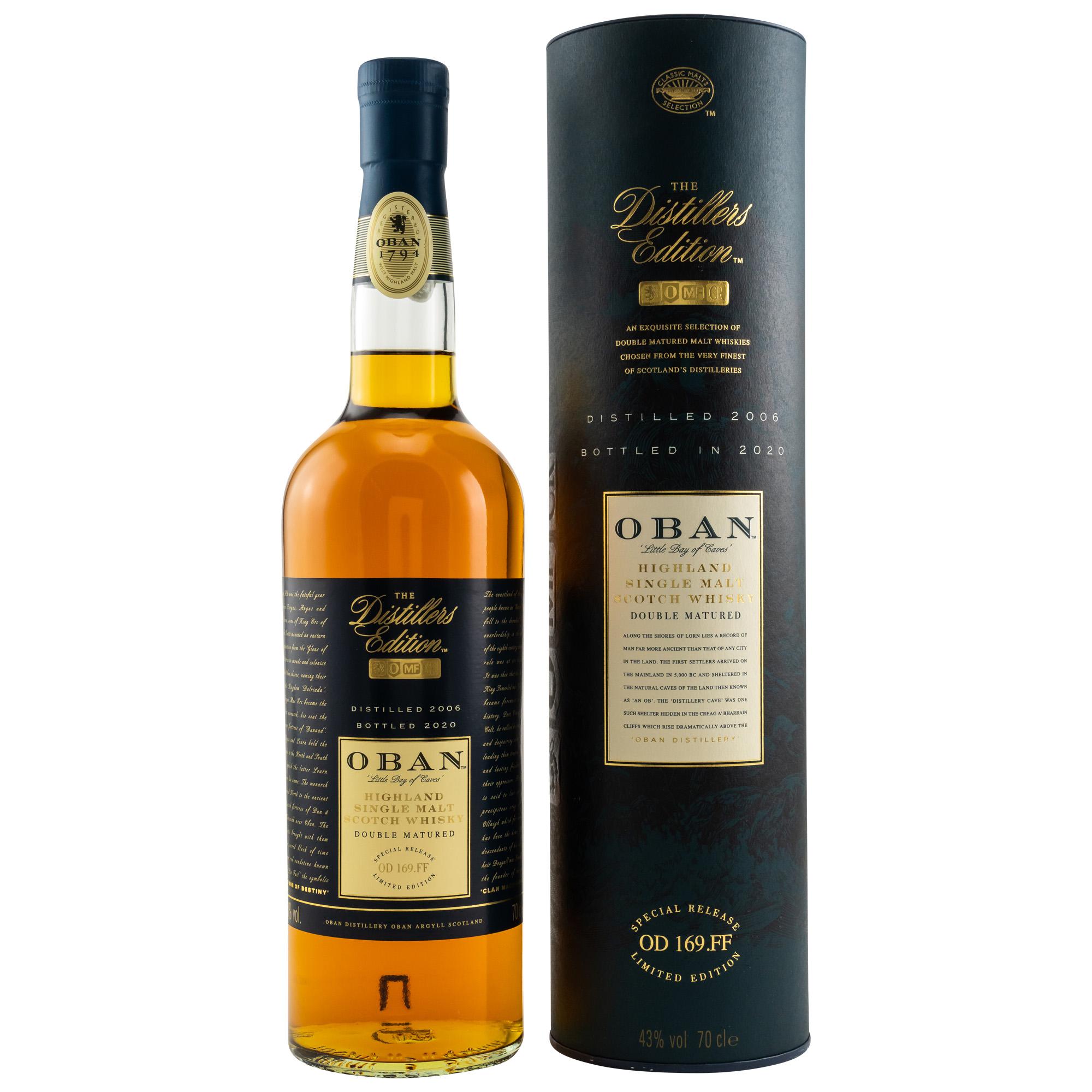 Oban Distillers Edition 2006/2020 43%