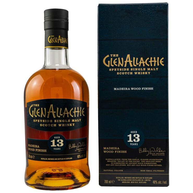 GlenAllachie 13 y. o. – Madeira Wood Finish 48%