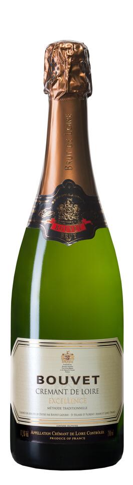 Bouvet CREMANT de Loire Brut Excellence Chenin blanc 80%, Chard. 20%