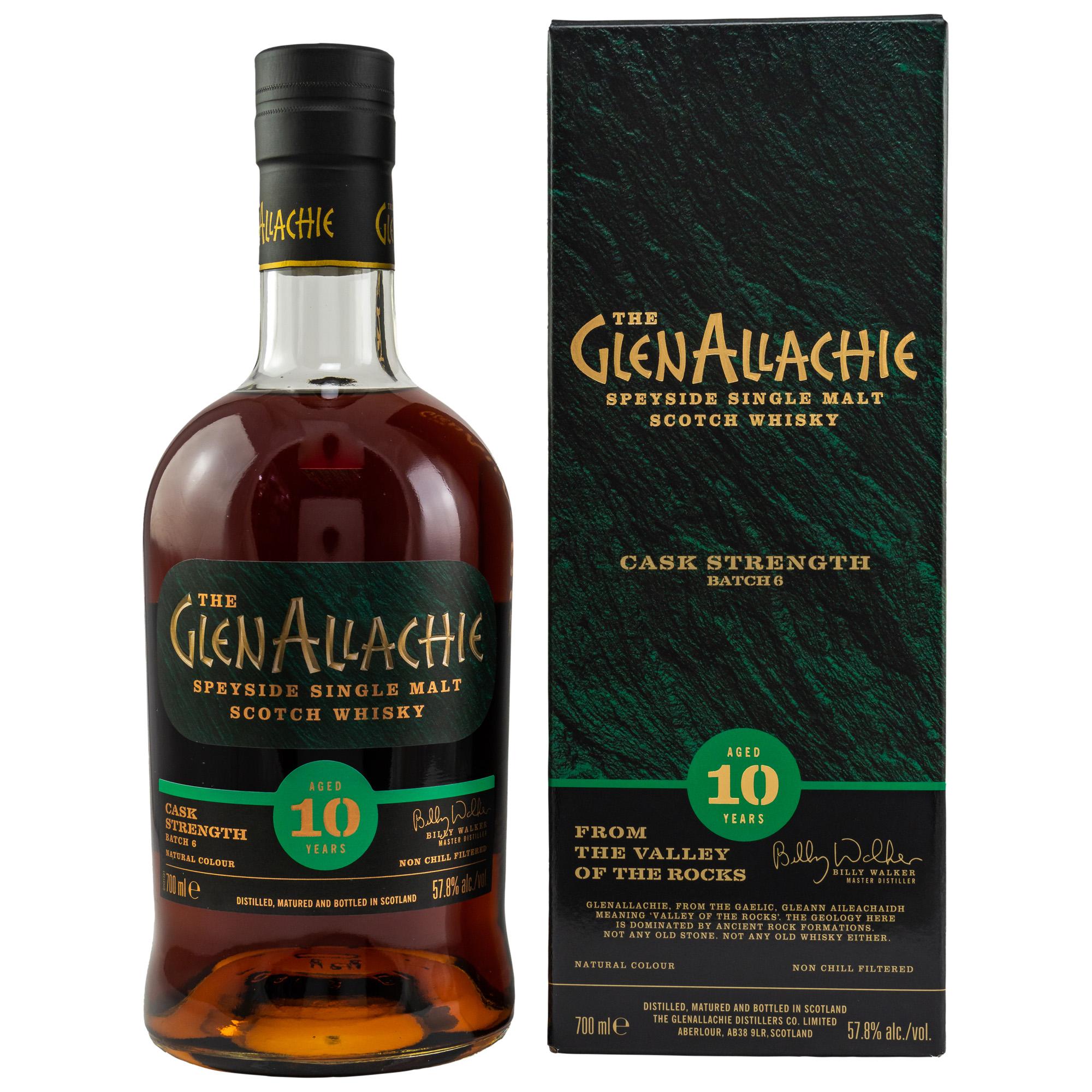 GlenAllachie 10 y. - Batch 6 - Cask Strength 57,8%