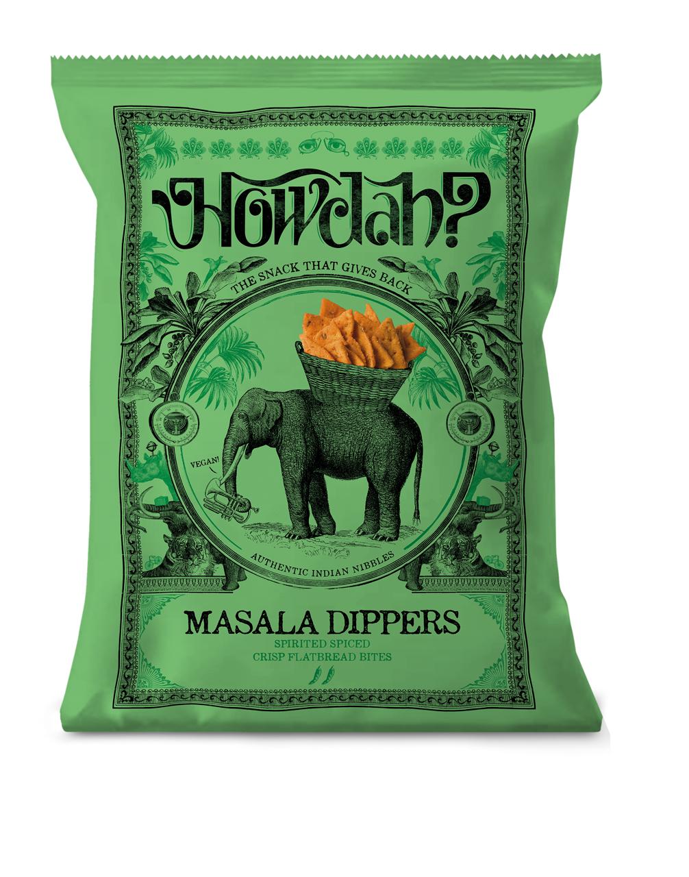 Howdah Masala Dippers - 150g.