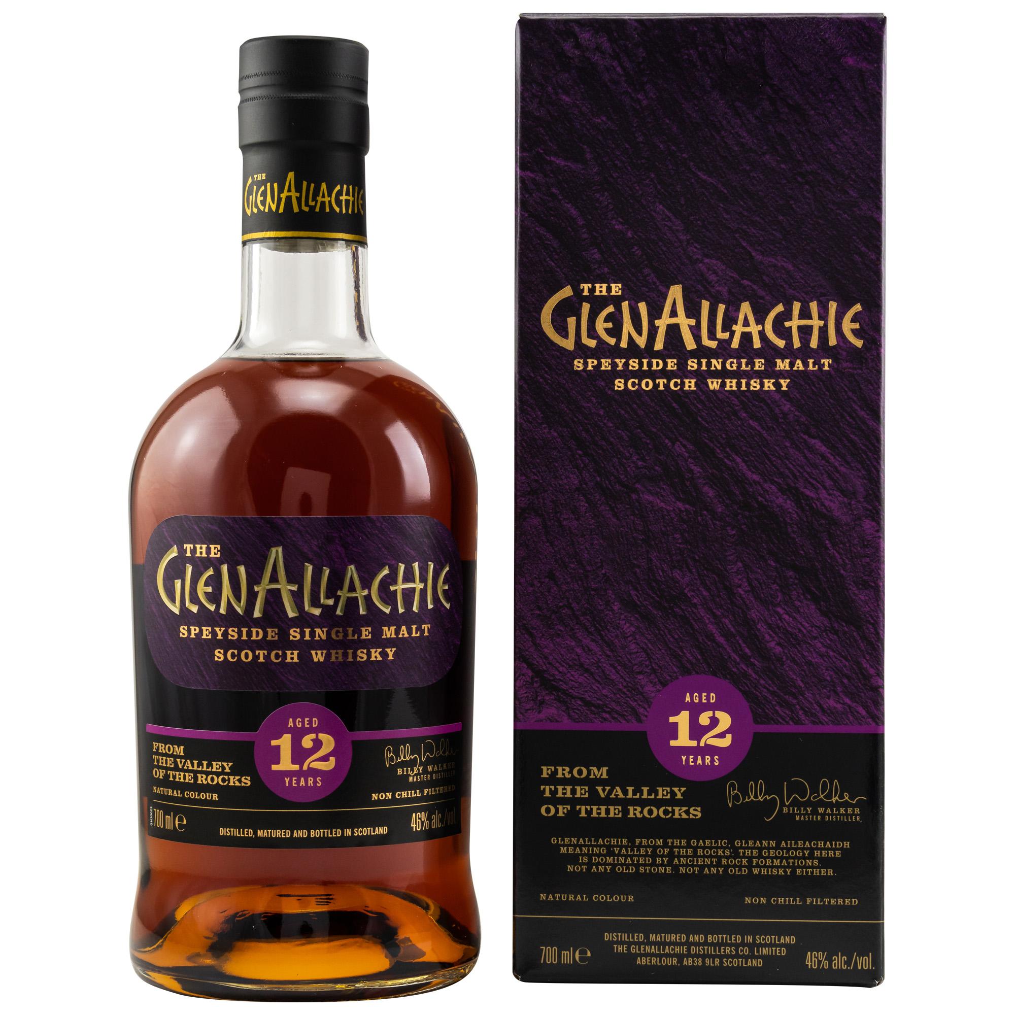 GlenAllachie 12 Jahre - Speyside 46%