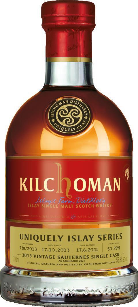 Kilchoman Uniquely Islay An Samhradh 2013 · Sauternes Cask · 55,8%