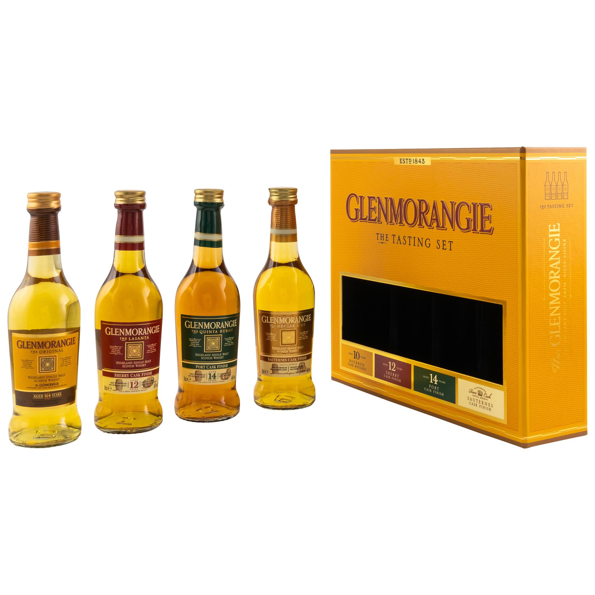 Glenmorangie Taster Collection 4 X 0,1l.