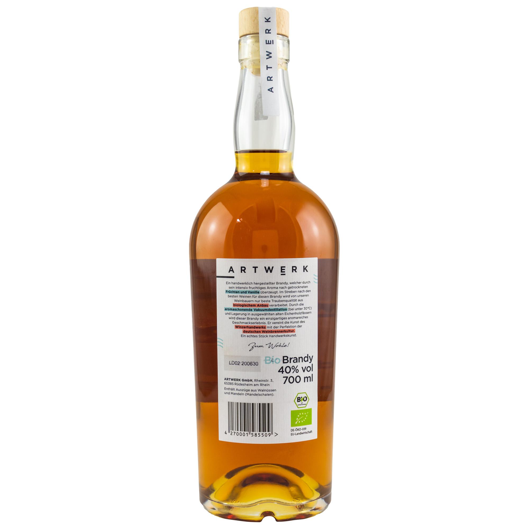 ARTWERK Bio Brandy 40%