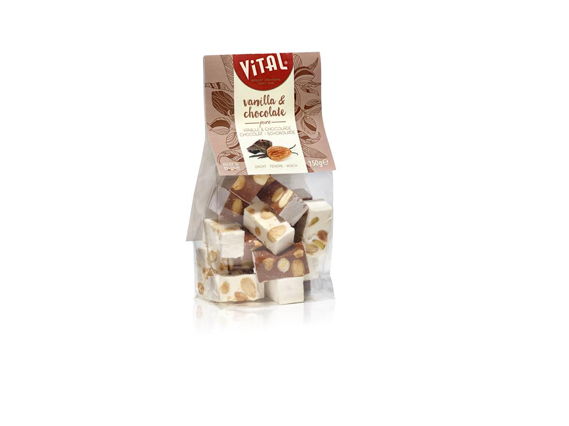 Weicher Nougat mit Vanille & Kakao 150g (Vital)