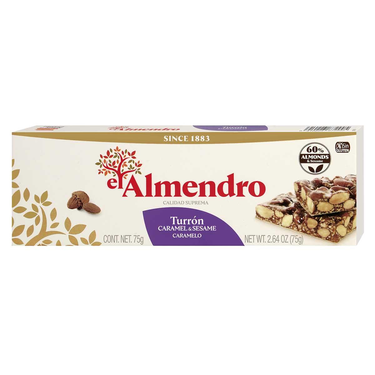 El Almendro – Turrón Caramelo 75g.
