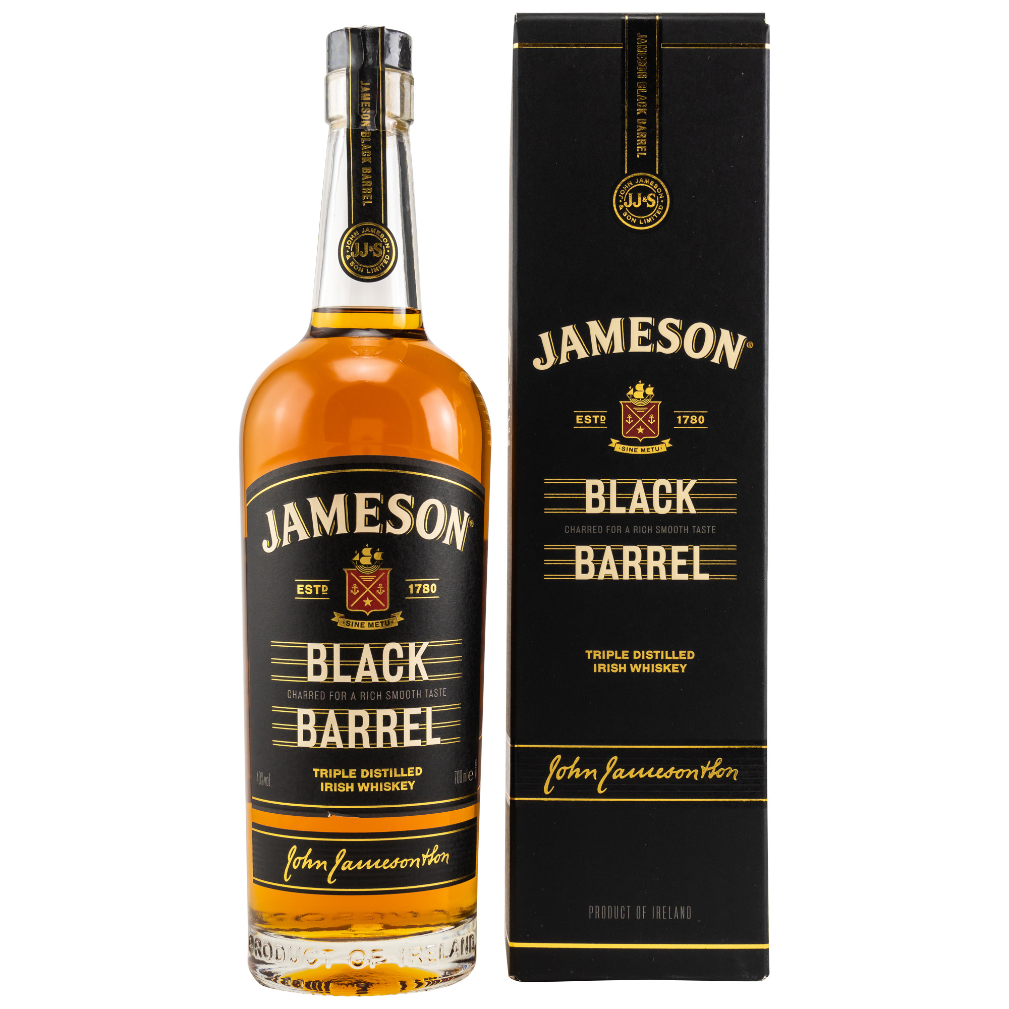 Jameson Black Barrel 40%