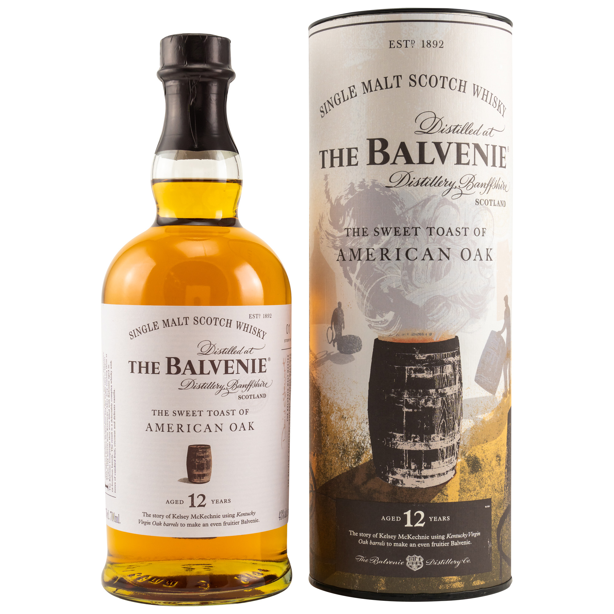 The Balvenie 12 Years - American Oak 43%
