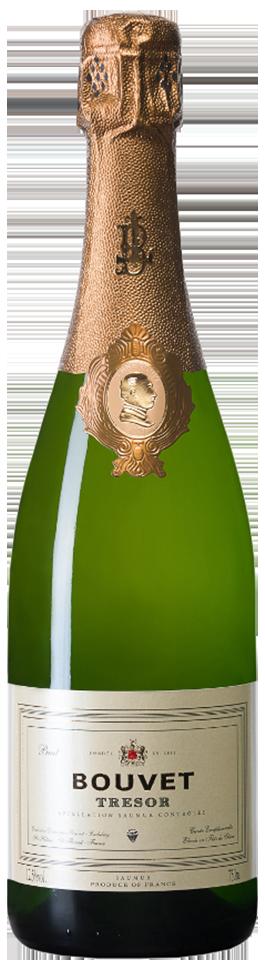 """Bouvet Saumur Brut Blanc """"Tresor"""" Chenin blanc 80%, Chard. 20%"""