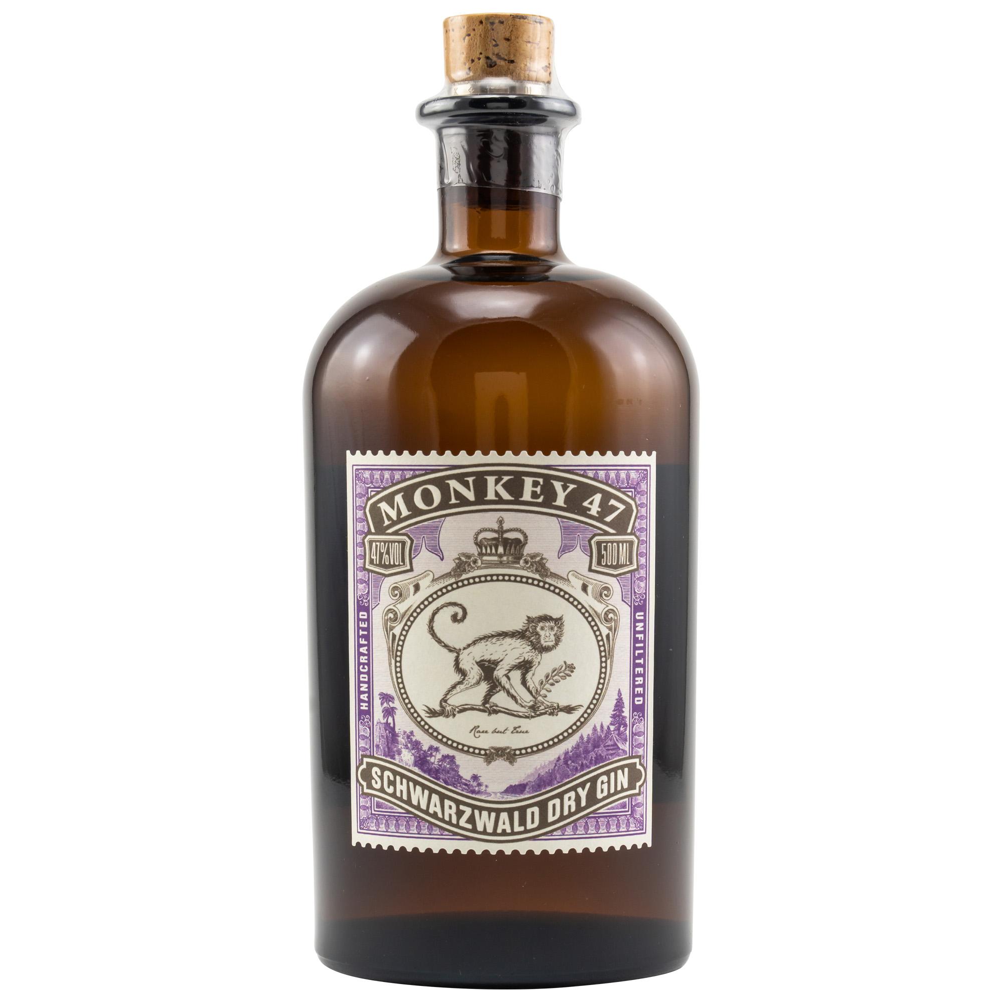 Monkey 47 Dry Gin 47% - 0,5l.